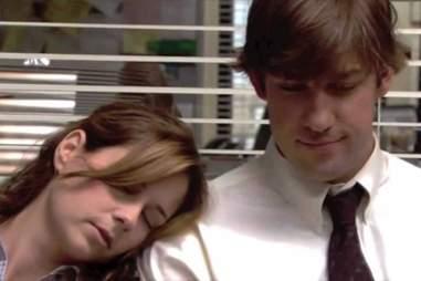 The Office, Jim, Pam, Sleeping