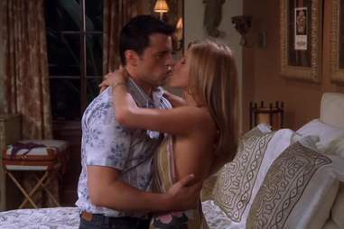 Friends, Rachel, Joey, Kiss