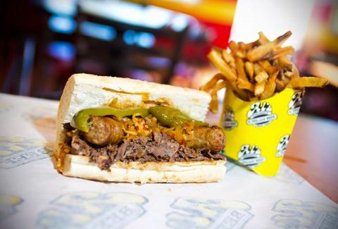 Al's #1 Italian Beef chicago fries dog