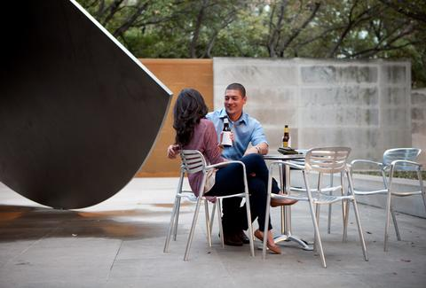 Couple at Dallas Museum of Art