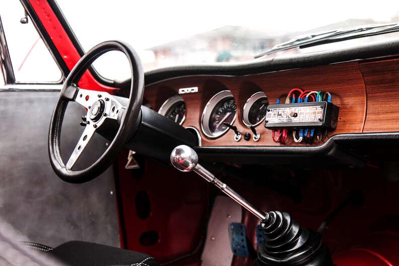 Manual clutch in a Giulia 1300