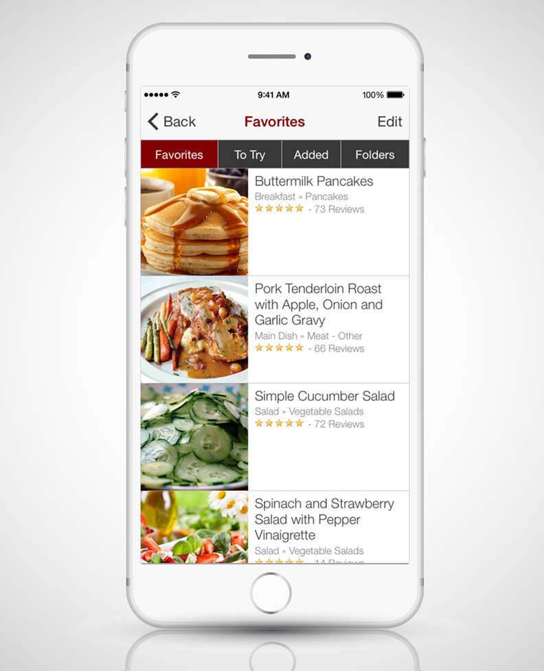 big oven app screenshot in iphone 6s