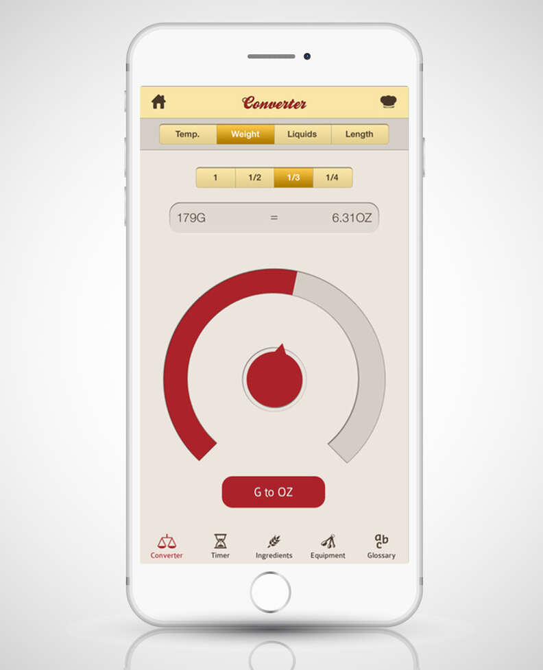excoffier cook's companion app in iphone 6s