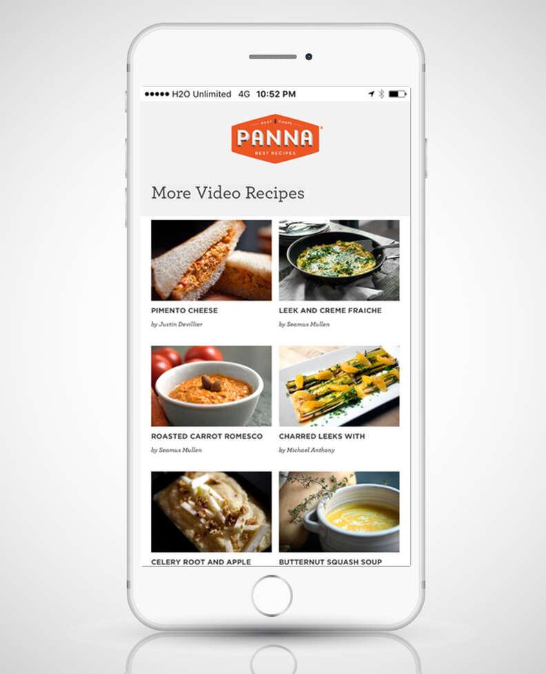panna app on iphone 6s