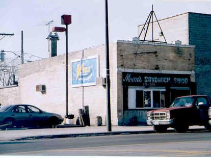 Moon's Sandwich Shop exterior chicago subs