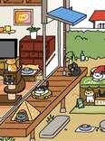 Neko Atsume iPhone game screenshot