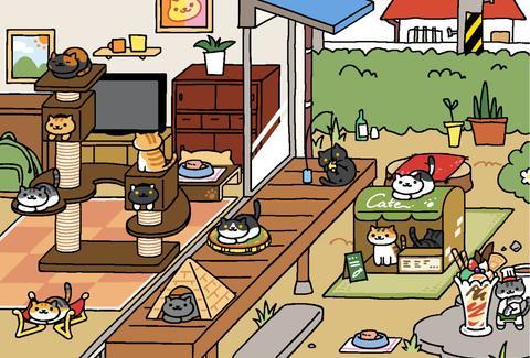 Игры на iphone кот