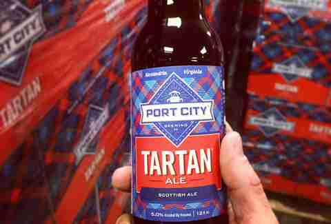 tartan ale beer from port city brewing