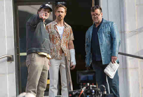 the nice guys - shane black ryan gosling and russell crowe