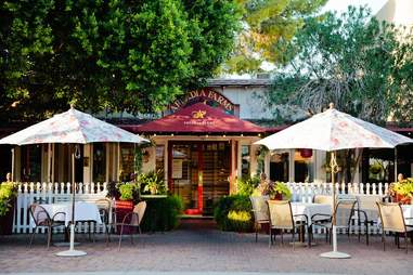 Arcadia Farms Cafe outside