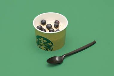 blueberry oatmeal, Starbucks blueberry oatmeal