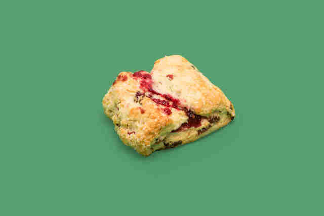 Starbucks Cranberry Orange Scone, Starbucks scone
