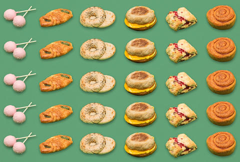 Starbucks food, Starbucks food menu