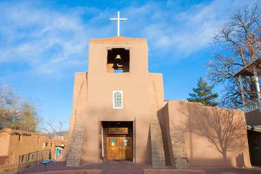 santa fe new mexico church