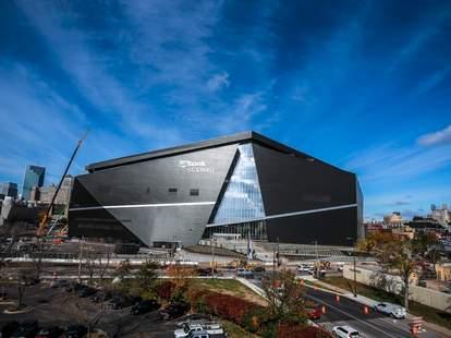 The Minnesota Vikings, US Bank Stadium