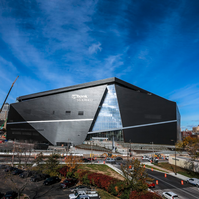 The Vikings FINALLY Have a New Home: Take a Look Inside US Bank Stadium