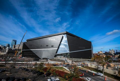 The Minnesota Vikings, US Bank Stadium