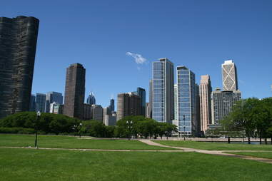 Milton Lee Olive Park in Chicago