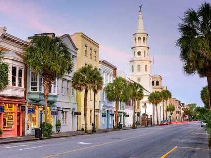 south carolina charleston cities with cool architecture