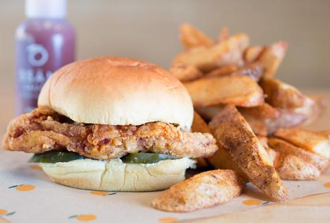 Momofuku fried chicken sandwich new york city
