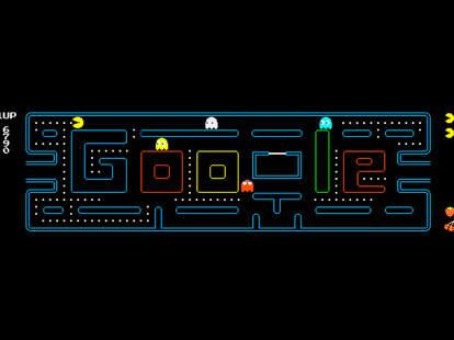google doodle pac-man
