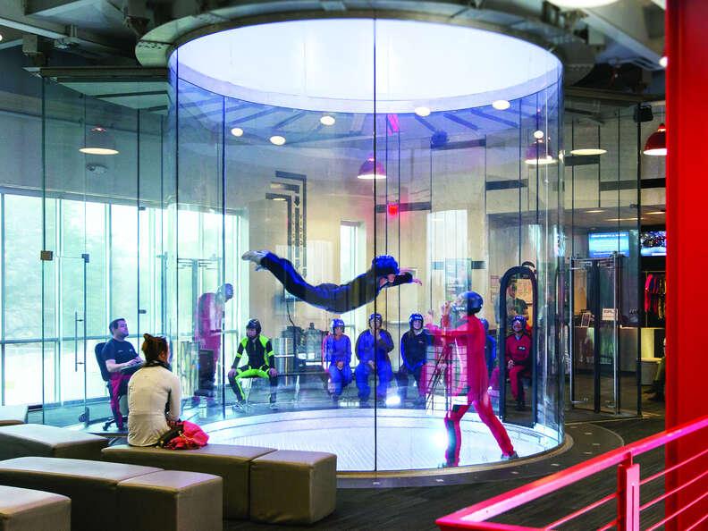 iFLY, skydiving, indoor skydiving