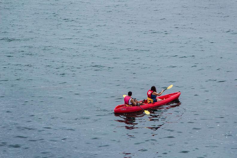La Jolla, Mission Bay, kayak, kayaking