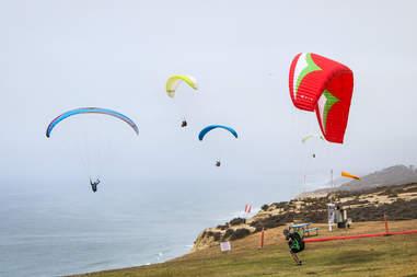 hang gliding, San Diego hang gliding