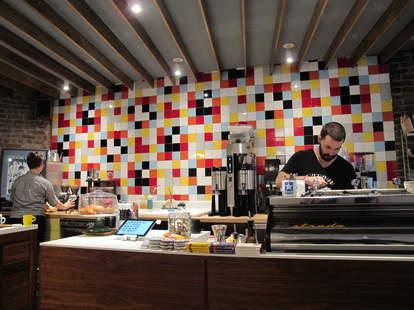 Barista at Everyman Espresso