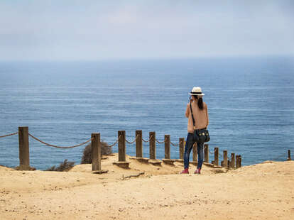 beach, San Diego beaches, tourist on beach