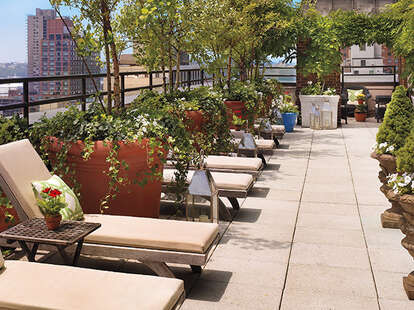 lounges at sky terrace