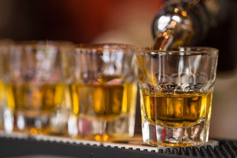 shots, whiskey shots