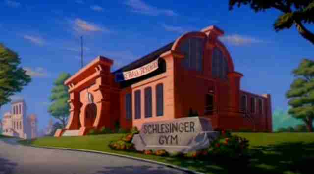Warner Bros., Schlesinger gym, Space Jam