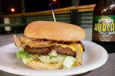 Hubcap Grill Cheeseburger Houston Burger