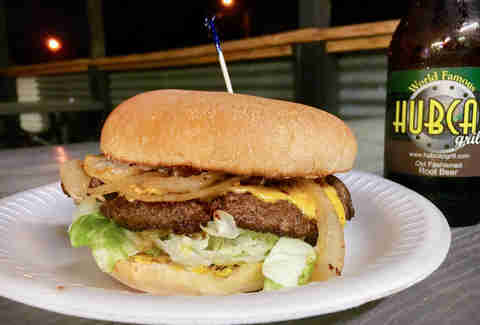 Hubcap Grill Cheeseburger Houston Burger