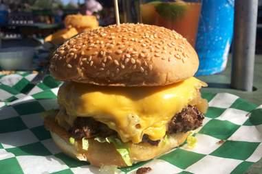 Tookie's Hamburgers Cheeseburger