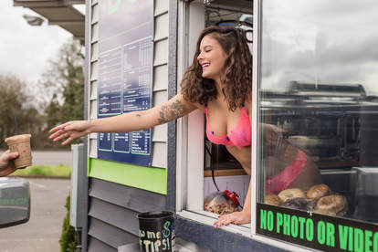 bikini baristas northwest portland coffee