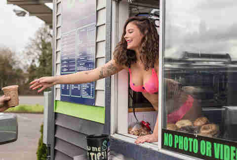 Bikini Baristas Have Taken Over The Pacific Northwest