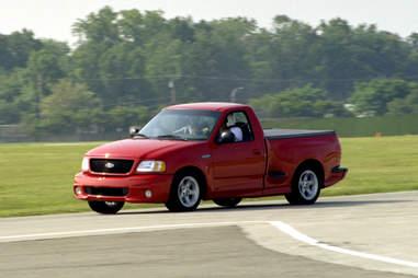 Ford Lightning was a sports car-slash truck hybrid