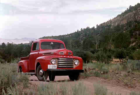 The 1948 Ford F-1 Pickup is the F-150's grandfather