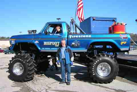 The original Bigfoot was an F-150