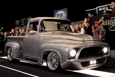The F-100 Snakebit is a GT500 with a truck body