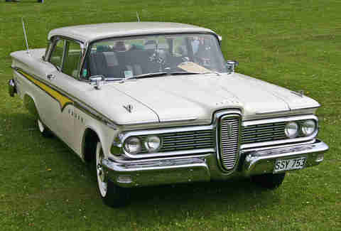 The Ranger started out as an Edsel
