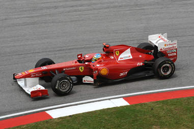 The Ferrari F150 name didn't sit well with Ford.