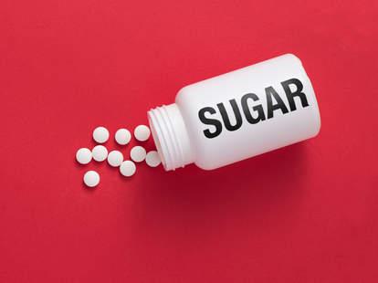 placebo sugar pills bottle