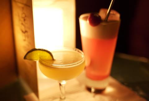 Cocktails at Little Branch NYC