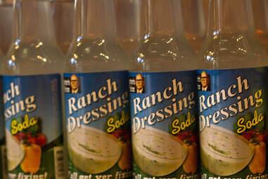 Ranch dressing flavored soda