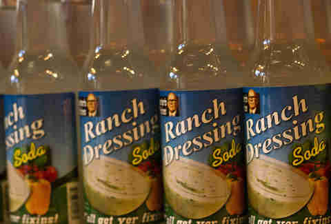 Ranch dressing flavored soda