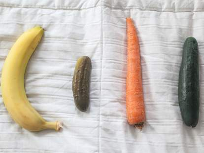 penis sizes and shapes