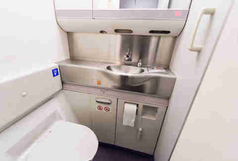 airplane toilet